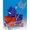 Úklidový vozík CLAROL 21001C, 2x17l