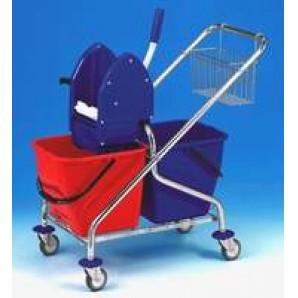 Úklidový vozík CLAROL 21031KL,2x17l